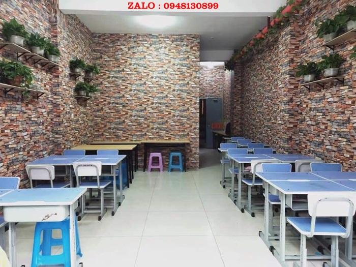 Xop Dan Tuong Trang Tri Quan Cafe